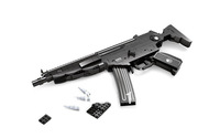 Ausini Gun Series MP5 Toy Gun No.P22705 Building Blocks Sets 597pcs Educational DIY Self-locking Bricks Toys for Children