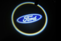 Free shipping 4th Gen Projector Laser LED Door Welcome Step Shadow Logo Light For Ford [QPL180 ]