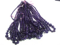 Natural amethyst crystal necklaces