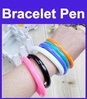 Bracelet pen/wrist pen/ Deformable/ Flexible Pen /Promotion Gift /Fashion Style many colors 5pcs
