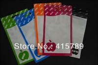 100pcs/lot 16*9cm retail packing bag Zipper Top cartoon girl OPP PP Poly plastic package bag for Apple for iPhone accessory