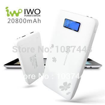 IWO p42s 20800mah power bank,Portable POWER bank,16000mAH battery,universal lenovo,xiaomi Charger tablet,Samsung,free ship(China (Mainland))