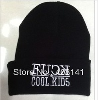 Good Life hat bboy knitted cap stretch hip-hop cap hip-hop FUCK COOL KIDS