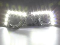 LED Daytime running lights front Fog lamp Fog Lights 2010-2013 Toyota Land Cruiser Prado