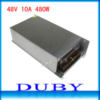 48V 10A 480W Switching Power Supply Driver For LED Strip light Display AC100V-240V Input,48V Output Free Shipping