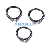 Wholesale 3 pieces /lot 30AWG 6FT 1.8m HDMI Cable For BLURAY 3D DVD PS3 HDTV XBOX LCD HD TV 1080P