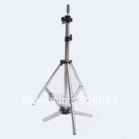 1 X Cosmetology Mannequin Head Tripod Stand, STAINLESS STEEL COSMETOLOGY TRIPOD Training Doll Head Mannequin Stand FAST SHIPPING