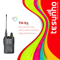 TESUNHO TH-G3 Compact sturdy long distance frs wireless licence free cheap handheld transceiver
