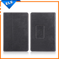 High Quality Black 7 inch Flip Leather Tablet Case Cover for Onda V701S Quad Core