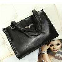 Маленькая сумочка BUENO new fashion nubuck leather women handbag shoulder bag vintage messenger bags spliced handbags HL1442