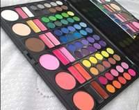 Free Shiping Cheap Beauty Product Series-- 3#P78 78 Color Eyeshadow / Cheek Blush /Pressed Powder/Lip Gloss Make Up Set retail