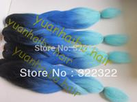 stock! factory cheap price synthetic braid ombre kanekalon jumbo braiding hair free shipping