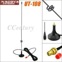 VHF UHF SMA Dual Band Magnetic Mobile Antenna Nagoya UT-108UV for BAOFENG CB Radio Walkie Talkie UV-5R UV-B5 UV-B6 GT-3 UV-82