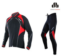 Hot Sale!2012 SOBIKE Cycling Bicycle Bike Riding Fleece Thermal Suits Long Jersey & Fleece Tights Pants - Cruise
