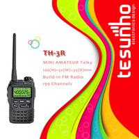 TESUNHO TH-3R best selling long range fashional portable handheld pocket two way radio transceiver