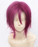 Free! - Iwatobi Swim Club Rin Matsuoka cosplay wig styled  +WIG CAP