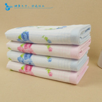 free    shipping Vosges 100% cotton whisper cotton towel elegant flower patterns washouts graphic