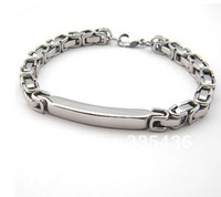 buckle men bracelets & bangles 2014 new stainless steel bracelet,316l Titanium steel ,fashion men cool gift bracelet for men
