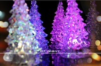 5 pieces Clearance ! big sales promotions ! Holiday Festival Best Gift RGB Colorful LED Christmas Tree NightLight lamp light
