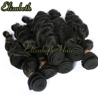 "NEW ARRIVAL 5A GRADE 100% VIRGIN INDIAN HUMAN HAIR EXTENSION 3PCS/LOT 14""-20"" IN STOCK NATURAL COLOR SNAKE CURLY FREE SHIPPING"