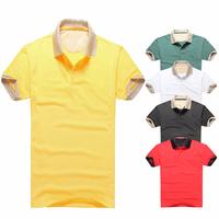 8 Colors Large in stock Famous brand Good quality men 's logo shirt size M L XL XXL short sleeve t shirt 100% COTTON t-shirt