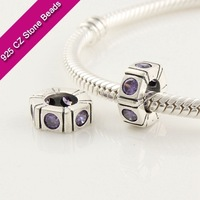 charm bead beads s 925 Silver European Brand Beads With GemStone, Precious And Semi Precious Gemstones, Jewelry Supplies Free Sh