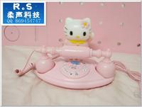 telefone Kxt-328 telephone hellokitty cat mini telephone cartoon telephone girls  telefon