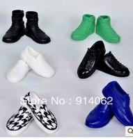 Free shipping wholesale boy doll shoes accessory 50pairs/lot randomly sent