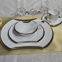 Fashion western dish set ceramic plate decoration steak dish tableware swing sets