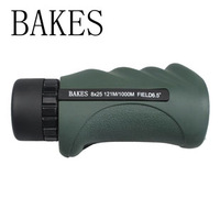 Bakes 8x25 hd monocular telescope night vision