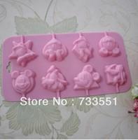 New Sale,factory wholesale,100%Food Grade Cartoon shape Silicone Cake Mold/Chocolate lollipop Mold/Muffin Cupcake Pan mold