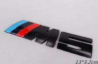 Car Metal Badge Emblem ///M M5 E28 E34 E39 E60 E61 F10 3D Red Blue Black