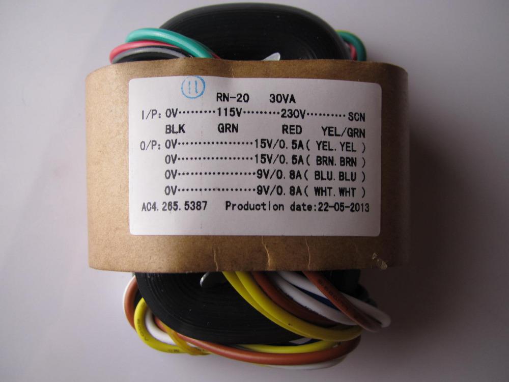 Transformator 110v to 9v Transformer 15v 15v 9v 9v