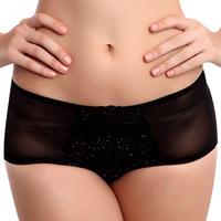 2013 women's mid waist panties comfortable trunk
