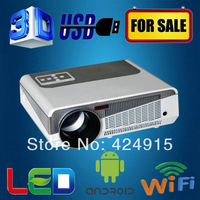 Brand New Android 4.0 Wifi Led TV 3D Full HD 3200lumens portable home cinema projector