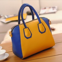 2013 Korean version of the new winter frosted smiley PU shoulder bag retro handbags factory wholesale Handbags