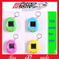 2PCS=1lot Digimon machine electronic pet Purcell lanyard Rio Ma Utako electronic pet machine children's  game electronic toys