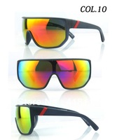 Europe and America selling colorful reflective mirror VZ ski mountaineering new fashion sunglasses vz wind mirror