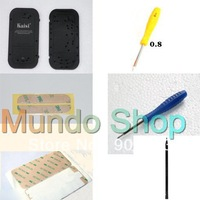 for iPhone 4 4s Mini Pentalobe Screwdriver Opening Repair Tool, Spudger, 3M Digitizer Tape Plate Sticker, screwmat for iPhone 5