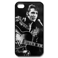 Popular Musician Elvis Presley Hard Plastic For iPhone 4/4s/5/5s/5c Case Sink Cover