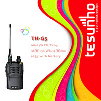 TESUNHO TH-G5 long range powerful Compact and Durable licence free business portable vhf radio
