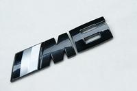 Car Badge Emblem ///M6 Motorsport E24 E63 E64 F12 F13 3D Logo Glossy Black
