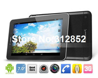 Wholesale Freelander PX2/PX1 7 inch IPS Tablet PC MTK8389 Quad Core 1.2GHz 1GB RAM Dual Camera Dual SIM HDMI Android 4.2 GPS