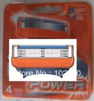 Free Shipping Hot Sale Factory Price men razor blade Original High Quality Razaors Blades(Total 4 blades) Grade AAA quality