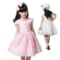 Комплект одежды для девочек Summer Kids Clothing Set Lace Children Girl Clothes Set 3PCS T Shirt And Lattice shorts Pants 2 Colors Infant