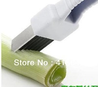 The kitchen magic shredded green onion knife cut Onions shredded green onion cutter knife/shredder stainless steel 3pcs/lot
