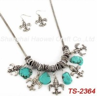 TS-2364Hotsale!! 2014 Fashion Necklace Set, Wholesale Fashion Jewelry, Women Earings And Necklace