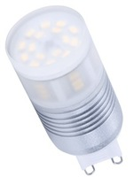 High lumen 90LM/W  ultra bright  2700K/3000K/4000K/6000K g9 3W led light bulb Spotlights