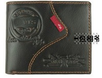 fashion men's  wallet,free shipping ,100% genuine leather ,1 pce wholesale ,quality quarantee,x-25