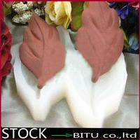 60pcs/lot 3D Leaf Shape Soap mold chocolate mold DC3111